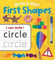 Write & Wipe First Shapes Plus Pen