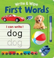 Write & Wipe First Words Plus Pen